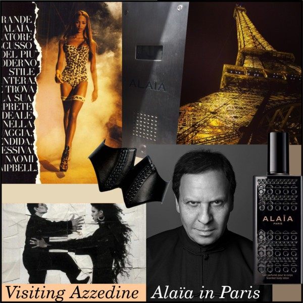 Visiting Azzedine Alaia in Paris