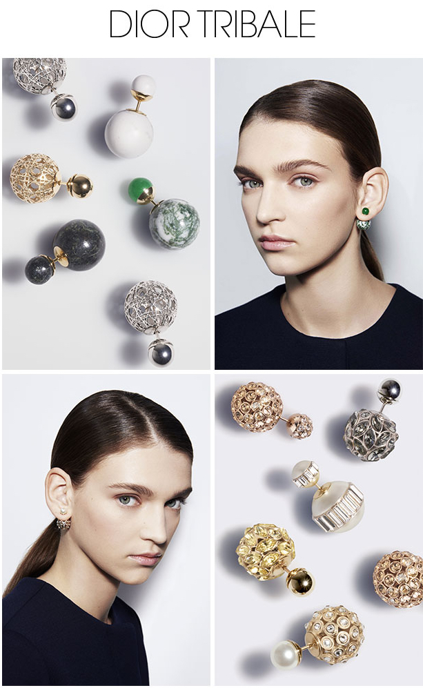 Dior S Tribale Earrings Have Become Quite The New Must In Fashion World To Frame Face With A Touch Of Sophisticated Femininity They Feature