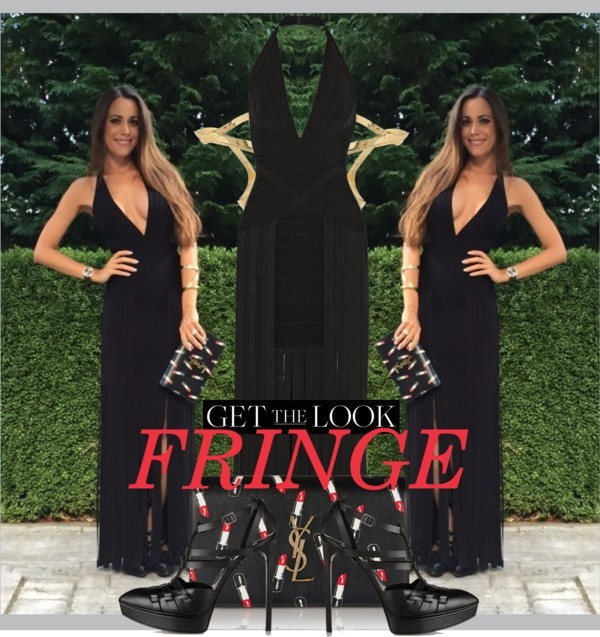 Fringe_Sandra_Bauknecht_Herve_Leger_Fringed_Dress-600x637