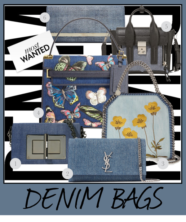 Give your wardrobe a new season update with a denim bag. An array of  different choices is waiting for you. I am in love with those classics that  are ... 7415b0529b