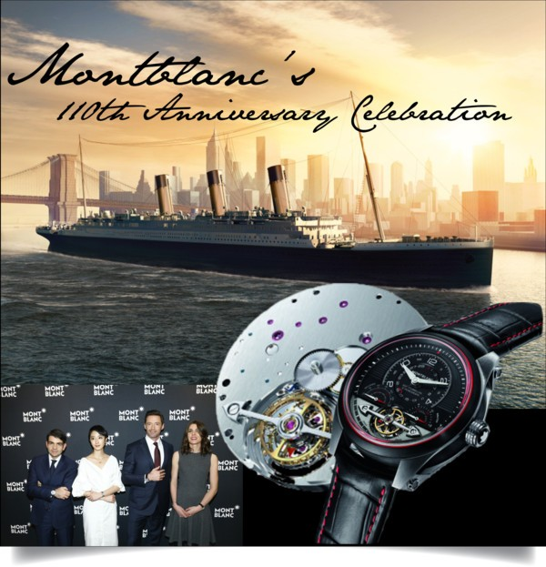 Montblanc Celebrates 110th Anniversary