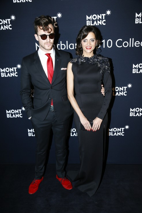 Montblanc _Diner SIHH 2016_Spanish Actresses Macarena Gomez and husband Actor Montblanc _Diner SIHH 2016_