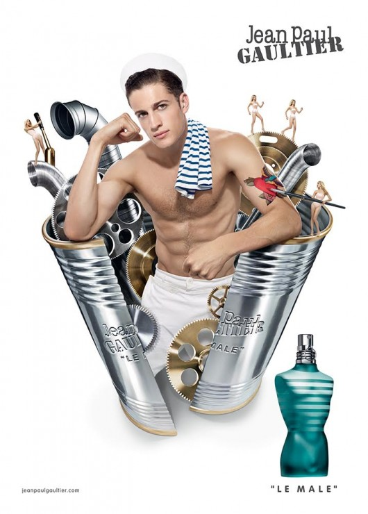 Jean-Paul-Gaultier-Le-Male-2016-Fragrance-Campaign