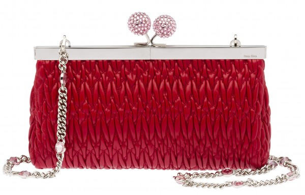 Miu Miu Valentines Day Clutch