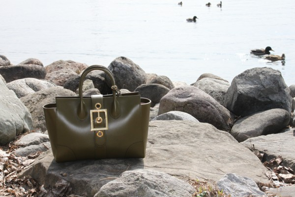 Gucci_Olive_Buckle_Lady Bag