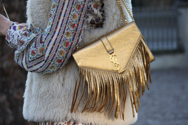 Saint_Laurent_Fringed_Gold_Bag_1