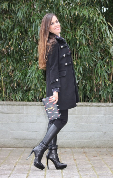 Sandra_Bauknecht_Gucci_Coat_Saint_Laurent_Clutch