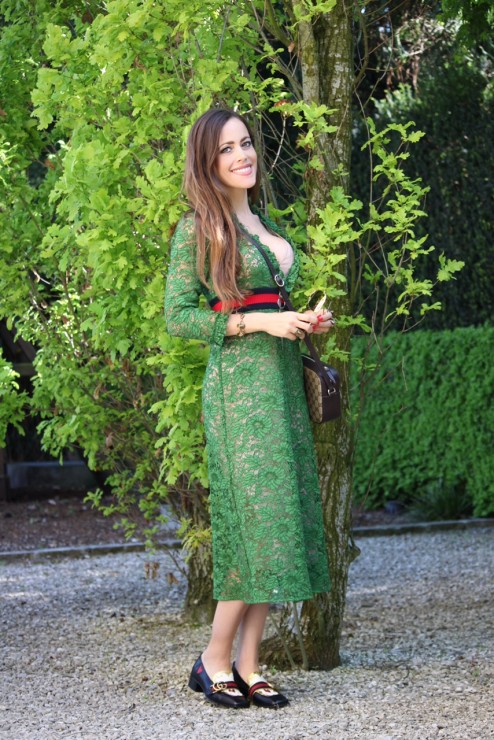 Sandra_Bauknecht_Gucci_Lace_dress_Green_13