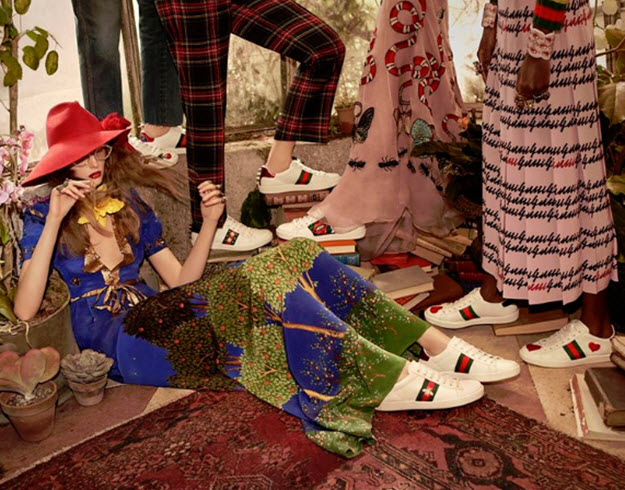 Most Wanted: Gucci's Ace Sneakers | Sandra's Closet