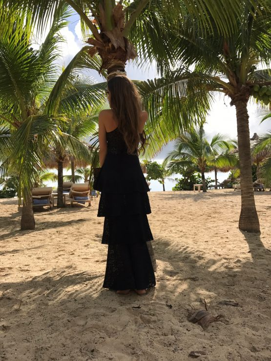 St_Barths_LeToiny_Sandra_Bauknecht_wearing_Stella_McCartney_tiered_lace_dress-1