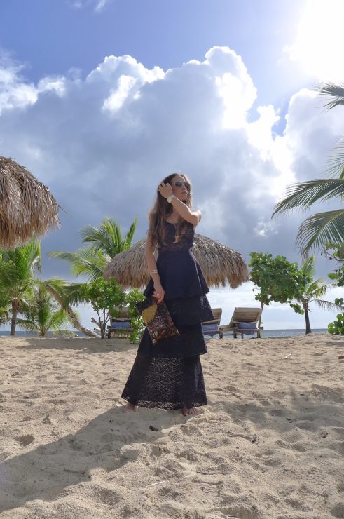 St_Barths_LeToiny_Sandra_Bauknecht_wearing_Stella_McCartney_tiered_lace_dress-5
