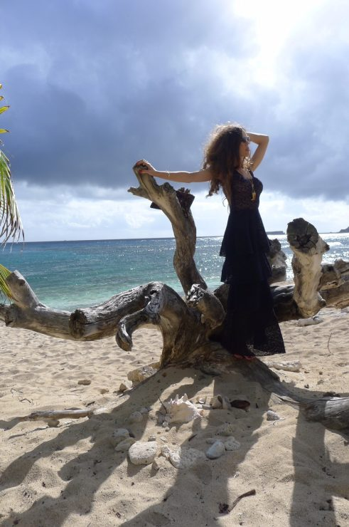 St_Barths_LeToiny_Sandra_Bauknecht_wearing_Stella_McCartney_tiered_lace_dress_16