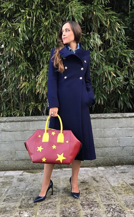 Sandra_Bauknecht_Gucci_Coat_Dark_Blue_Stella_Bag