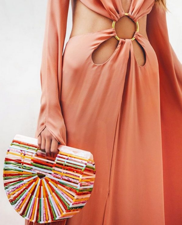 77342fbc7a8d The Ark clutch is here to stay for the next season and will be launched in  many colors. You can pre-order this small multi acrylic Ark clutch for  Resort ...