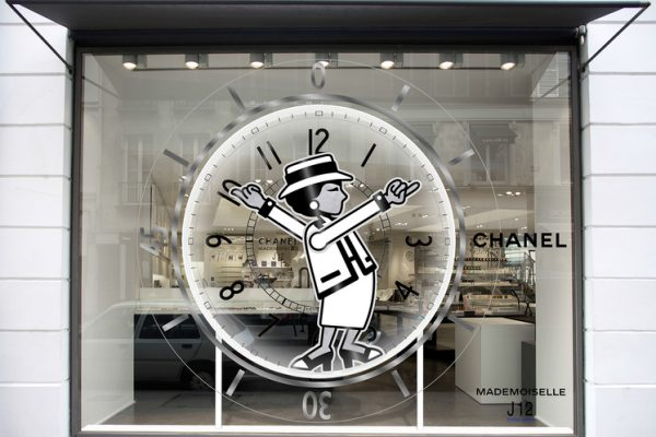 b7e7f11413 Chanel window display at Colette from May 29th to June 3rd