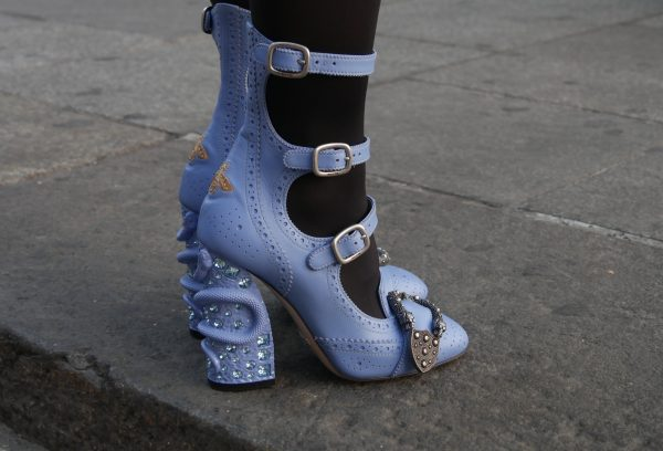 ffd48e98bb1 Queercore embellished leather ankle boots