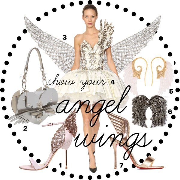 e367e850db9a ... angel wings as a fashion statement most likely thanks to the Victoria s  Secret Angels who are sporting their wings on the famous lingerie runway.