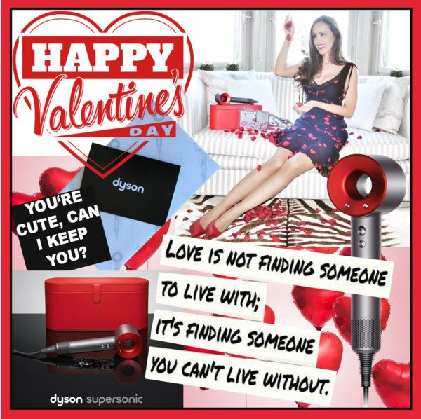 baa08fe0803 WIN a limited edition DYSON Supersonic™ Iron Red. Happy Valentine s Day!