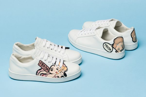 Comics sneakers Prada