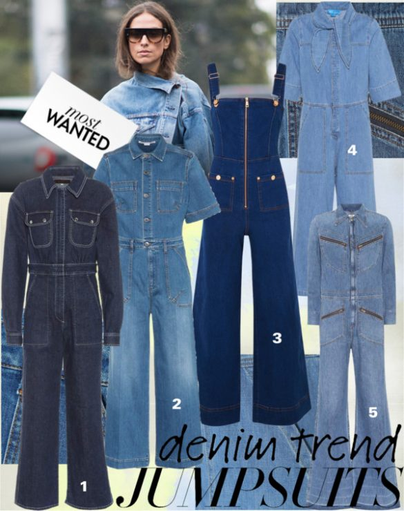 c2585cdc57 Calling all  90s fashion fans – denim jumpsuits are back and have been  resurrected in multiple styles for the new season. Not just overalls