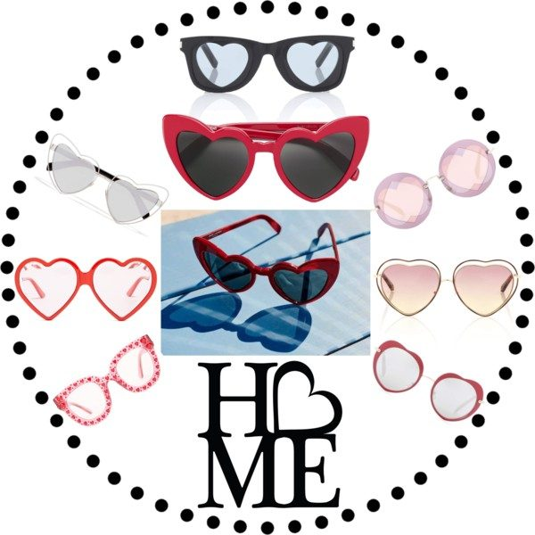 d7f0a65c7e6 Heart-shaped sunglasses are a must this summer! The most Instagrammable  ones of the season will be probably Saint Laurent's LouLous that combine a  cheeky ...