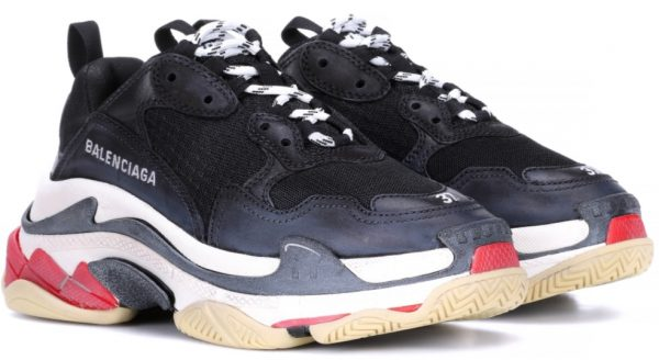13be4f297f3a Those sneakers perfectly capture the street-style look of the moment. The  toe is embroidered with the size of the shoe