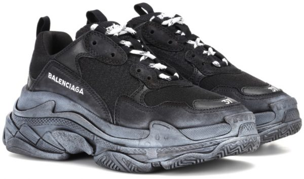 2f0e80f52c3 Meet the most important version  Balenciaga s sneakers «Triple S» are the  epitome of dad shoes that are sold out everywhere (still popping up from  time to ...