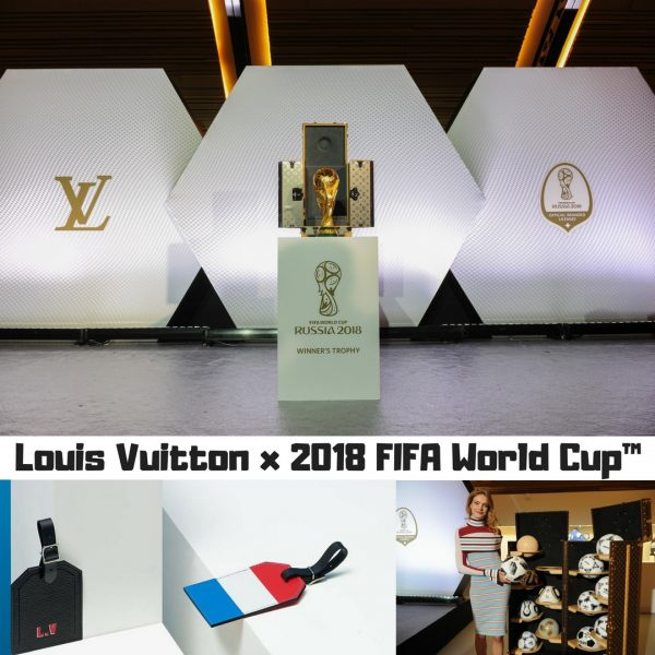 6d160158bf02 Finally there is something that really gets me excited for football. LOUIS  VUITTON celebrates the 2018 FIFA World Cup Russia™ with three unique  projects of ...
