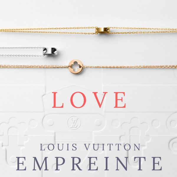 a2cb07dc7b8d The Empreinte jewellery range was created in 2004 and features the studs  from LOUIS VUITTON s emblematic travel trunks. Now a signature of this  precious ...