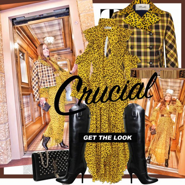 0a9f42f6a3d In my opinion, mixing and matching is crucial to a fashionable look. One  night at the Gstaad Palace, I went for acid yellow, leopard print and check  – all ...