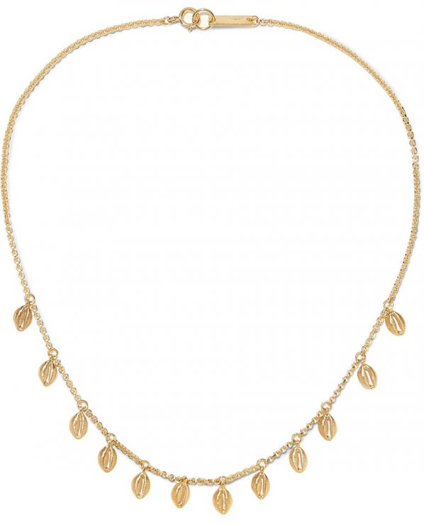 63e84fa51d8 Gold-tone necklace by Isabel Marant