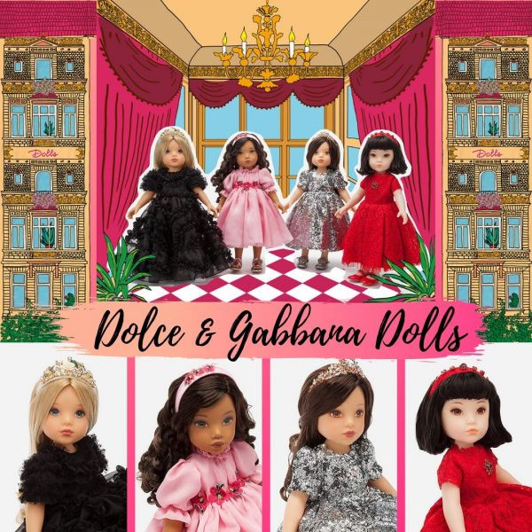 uk availability ead1a 51517 Dolce & Gabbana Dolls | Sandra's Closet
